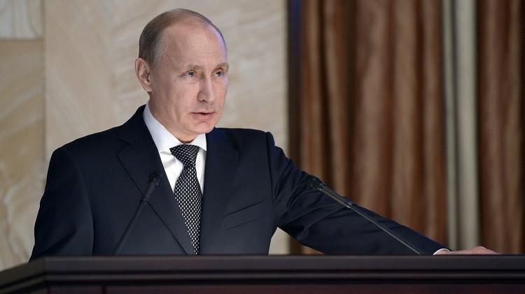 بوتين يطالب جهاز الأمن بالتصدي لمحاولات مسلحي