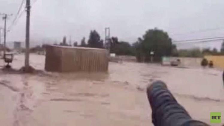 الفيضانات تغمر عديد المدن التشيلية