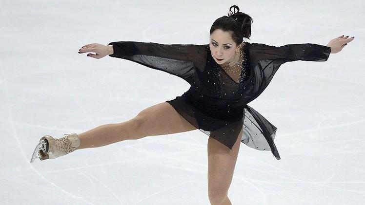 فيديو .. تألق الروسية توكتاميشيفا في بطولة العالم للتزحلق على الجليد