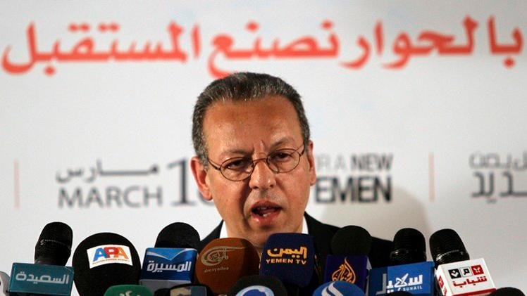 بنعمر يقترح نقل الحوار اليمني إلى المغرب