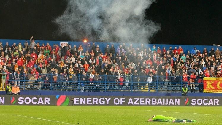 تسلسل الأحداث الدراماتيكية المؤدية إلى إلغاء مباراة روسيا والجبل الأسود