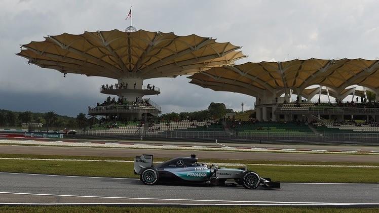 هاميلتون أول المنطلقين في سباق ماليزيا للفورمولا-1 .. (صور)