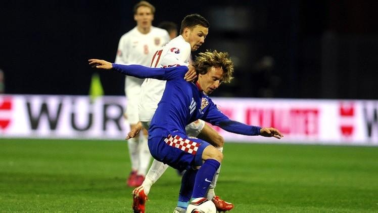 كرواتيا تكتسح النرويج في تصفيات أمم أوروبا 2016