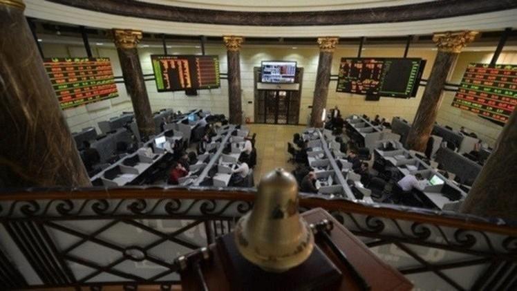 بورصة مصر في المنطقة الخضراء في بداية تعاملات الأسبوع
