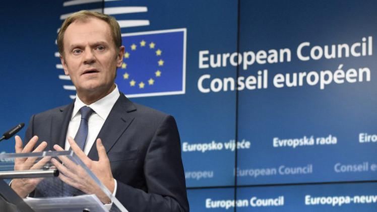 توسك: بروكسل وواشنطن تعارضان عملية عسكرية في ليبيا حتى تكوين حكومة وحدة