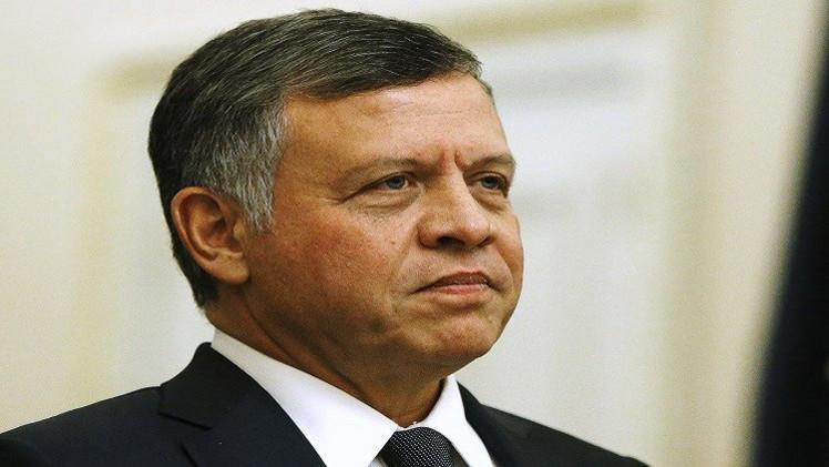 الملك الأردني يبحث مع نائب الرئيس العراقي