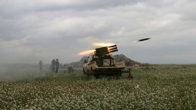 الجيش السوري يهاجم مواقع لمسلحين في إدلب وريفها