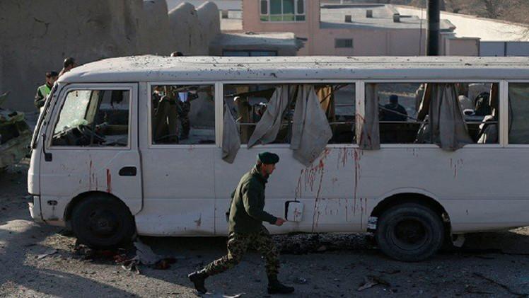 مقتل 7 من عائلة واحدة في انفجار لغم بأفغانستان