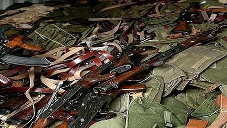 صورة أرشيفية لأسلحة