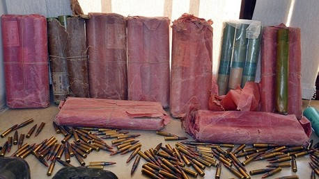 أسلحة عثر عليها الأمن التونسي