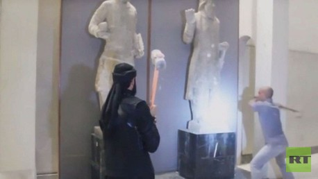 داعش تدمر آثار المنطقة