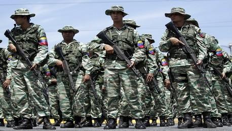 قوات عسكرية فنزويلية