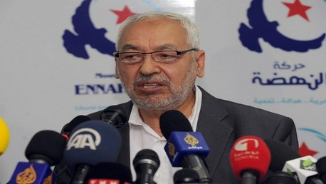 راشد الغنوشي رئيس حركة النهضة التونسية