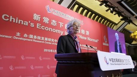 صندوق النقد الدولي مستعد للتعاون مع بنك تقوده الصين