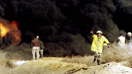 صورة أرشيفية لحريق