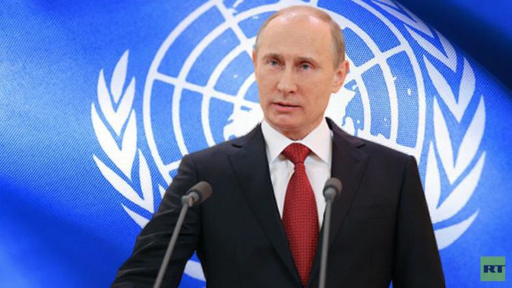بوتين يتهيأ للذهاب الى نيويورك