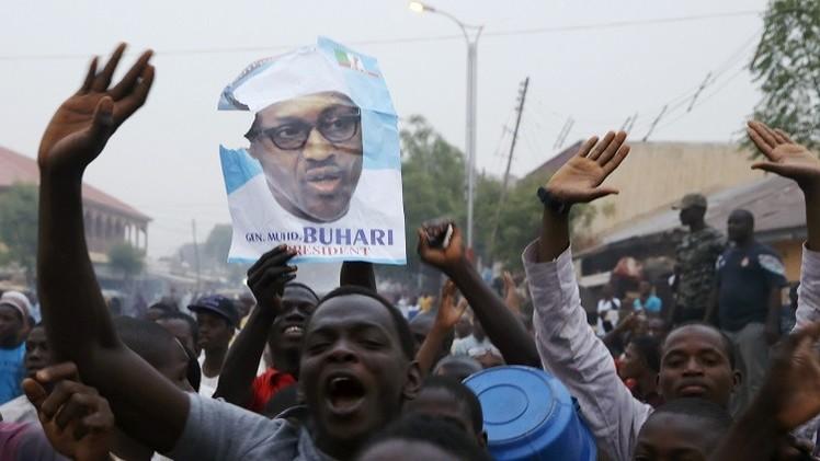 بخاري يفوز بالرئاسة في انتخابات نيجيريا وخصمه يقر بالهزيمة