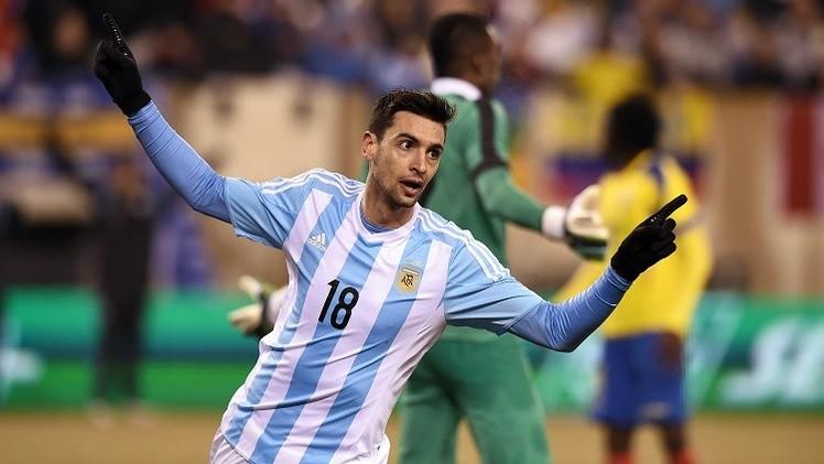 بالفيديو.. الأرجنتين تفوز على الإكوادور من دون ميسي
