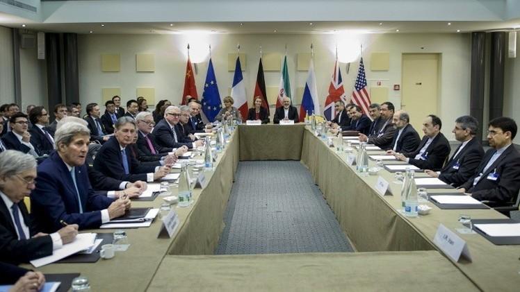 اتفاق إطار بين إيران ومجموعة