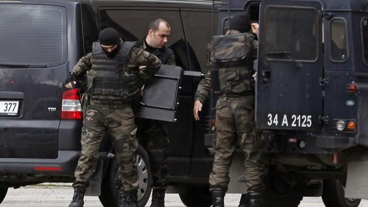 اعتقال 10 من اليسار المتطرف بمداهمات للشرطة التركية في اسطنبول