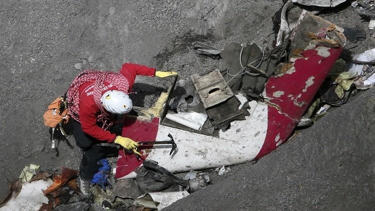 الصندوق الأسود الثاني للألمانية يؤكد تورط مساعد الطيار بالكارثة