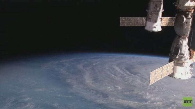 فيديو.. مشاهد ملتقطة من الفضاء لإعصار مايساك