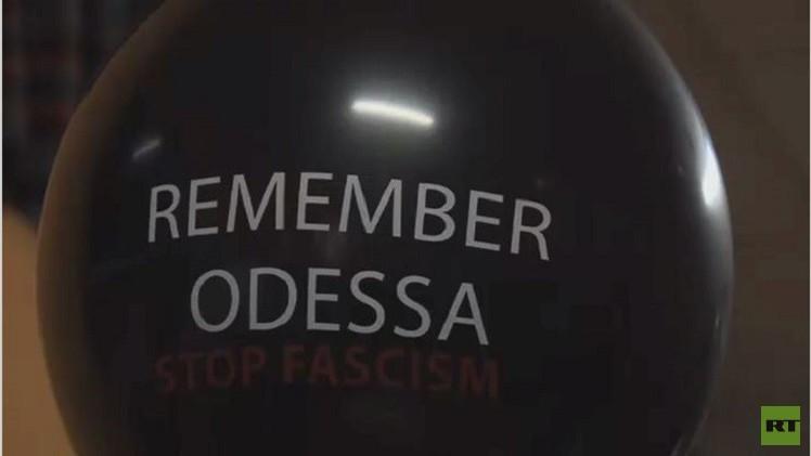 فيديو...معرض للصور في إسبانيا يخلد فاجعة أوديسا