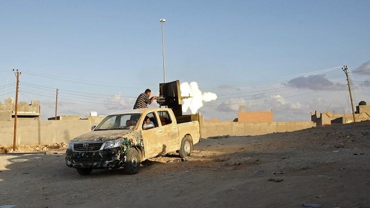 الجيش الليبي يسيطر مجددا على مدينة العزيزية