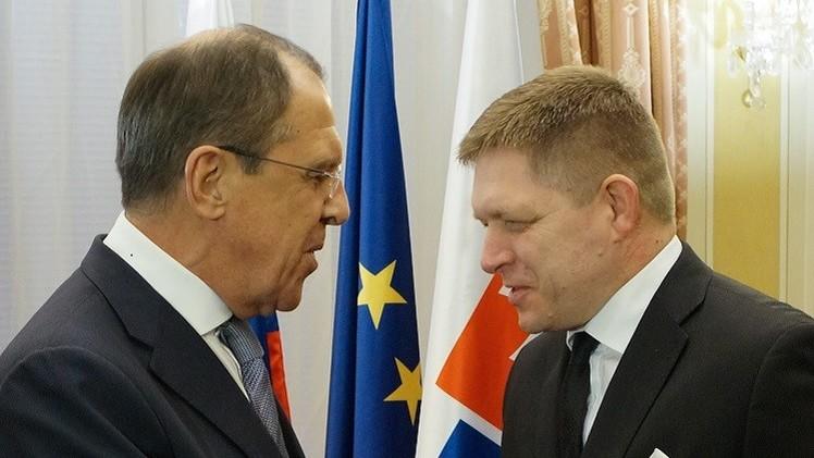 لافروف: تطبيع العلاقات الروسية الأوروبية سيسمح بحل قضايا دولية (فيديو)