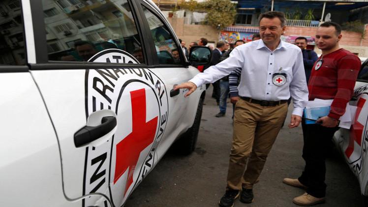 الصليب الأحمر يدعو لوقف إطلاق نار