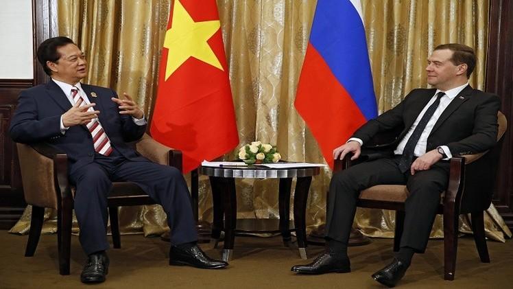 روسيا وفيتنام نحو تعزيز التعاون بينهما