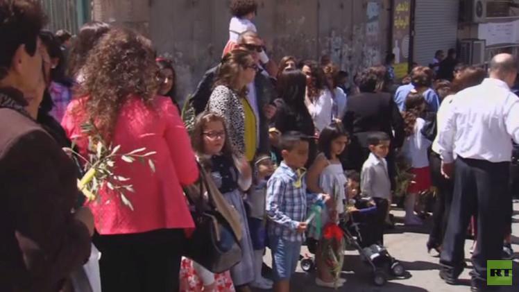عيد الشعانين في رام الله