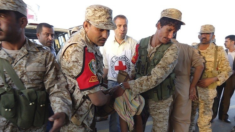 الصليب الأحمر يعلن تلقيه تصريحا من التحالف العربي لإيصال أدوية إلى اليمن