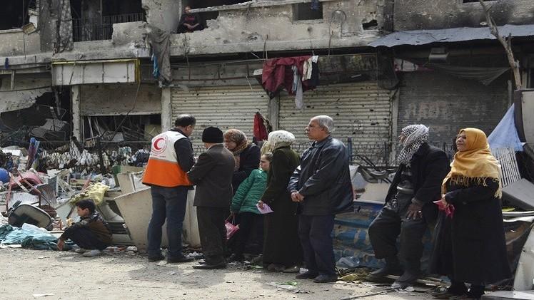 الجامعة العربية تطالب بحماية اللاجئين الفلسطينيين في مخيم اليرموك