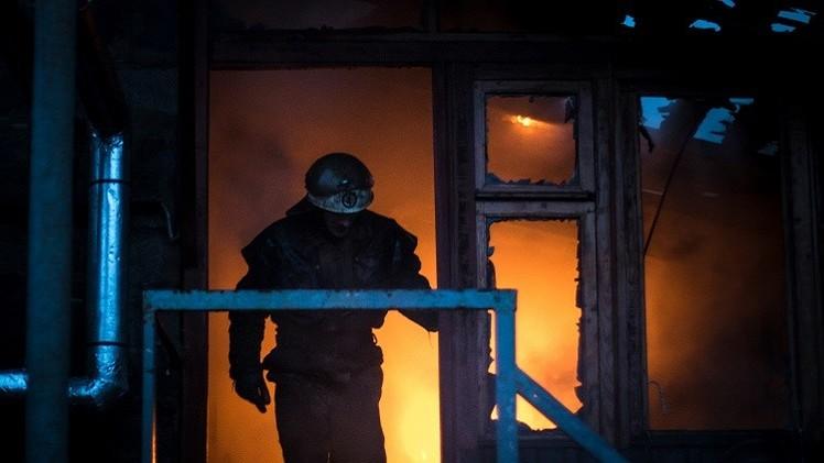 دونيتسك: الجيش الأوكراني يشن قصفا كثيفا لمطار المدينة