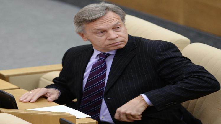 بوشكوف: واشنطن قلقة من فشلها في عزل روسيا