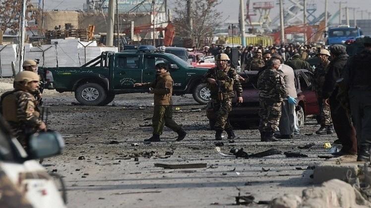 مقتل 7 أشخاص على الأقل بتفجير وسط العاصمة الأفغانية كابل