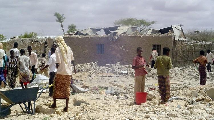 سلاح الجو الكيني يقصف مواقع لحركة