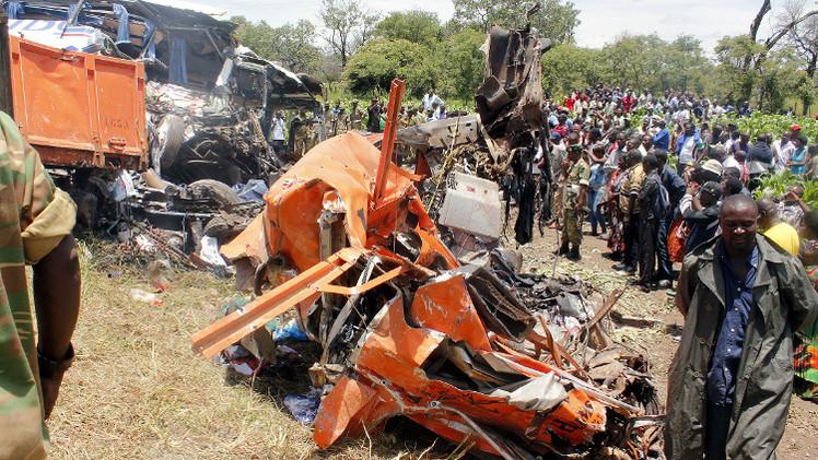 مصرع 17 شخصا على الأقل في حادث سير في زامبيا