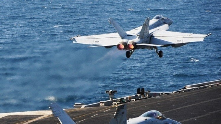 التحالف الدولي ينفذ 13 ضربة جوية ضد