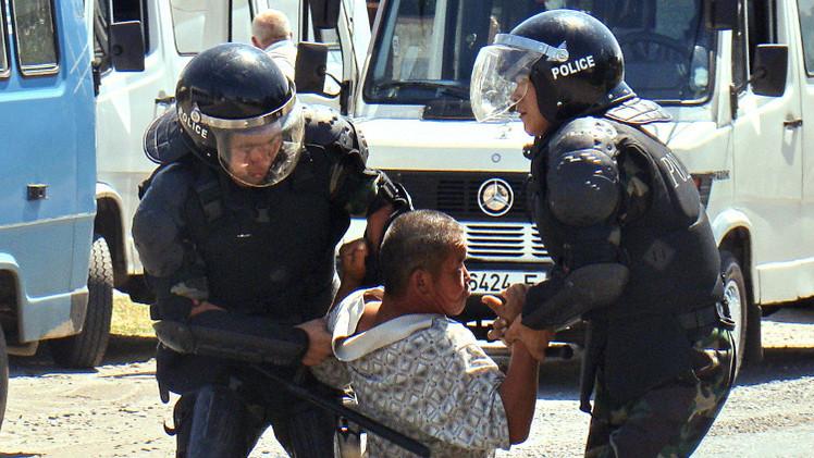 اعتقال قرغيزي من حرس الحدود يدعو إلى تمرد مسلح