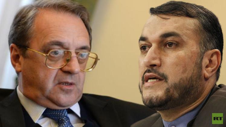 موسكو وطهران تؤكدان ضرورة التسوية السياسية في سوريا واليمن