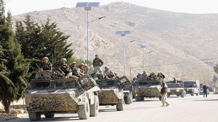 الجيش اللبناني:  القضاء على 3 متشددين قرب الحدود السورية