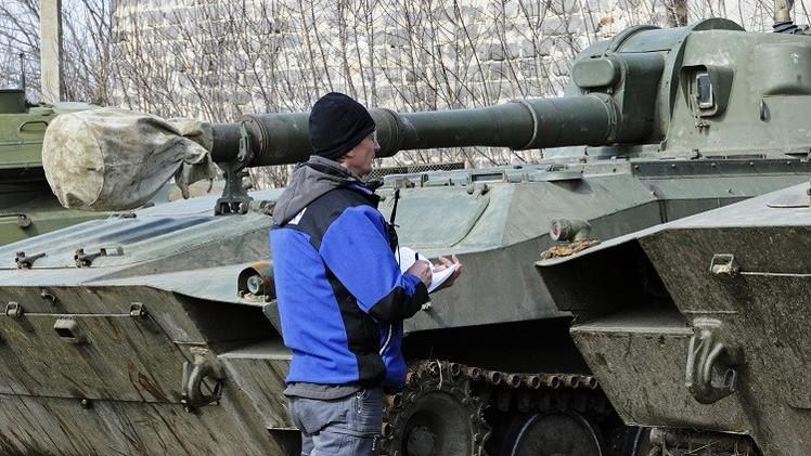 مراقب منظمة الأمن والتعاون الأوروبي في جنوب شرق أوكرانيا