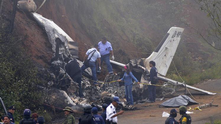7 قتلى في حادث تحطم طائرة خفيفة في الولايات المتحدة
