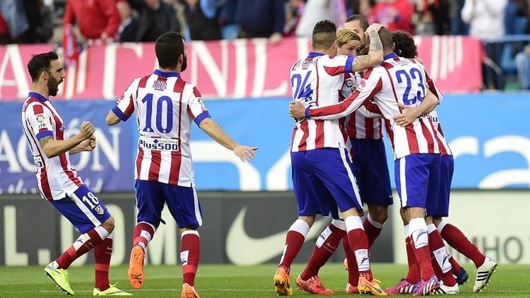 أتلتيكو مدريد يكرم ضيفه ريال سوسييداد بثنائية