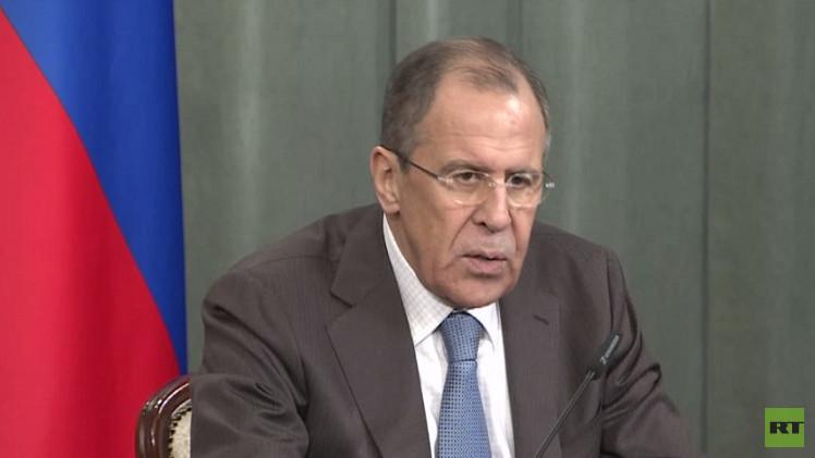 لافروف: نأمل في زيادة التفاهم بين المشاركين في لقاء موسكو حول سوريا