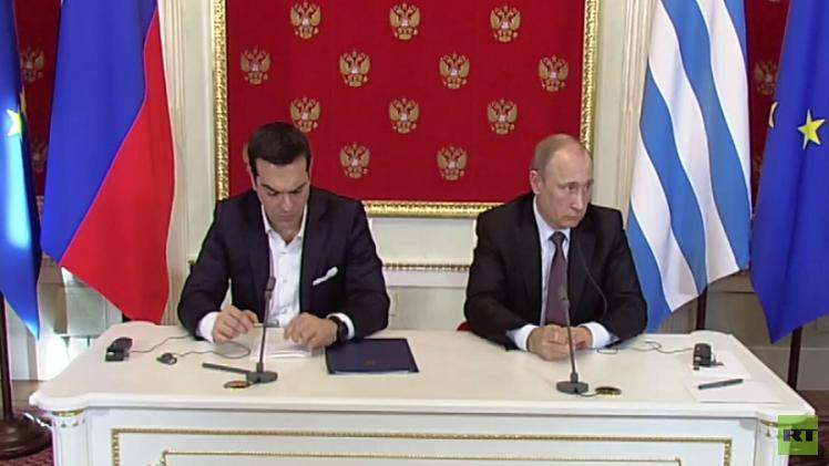 روسيا واليونان تؤكدان على ضرورة تنفيذ اتفاقات مينسك حول أوكرانيا