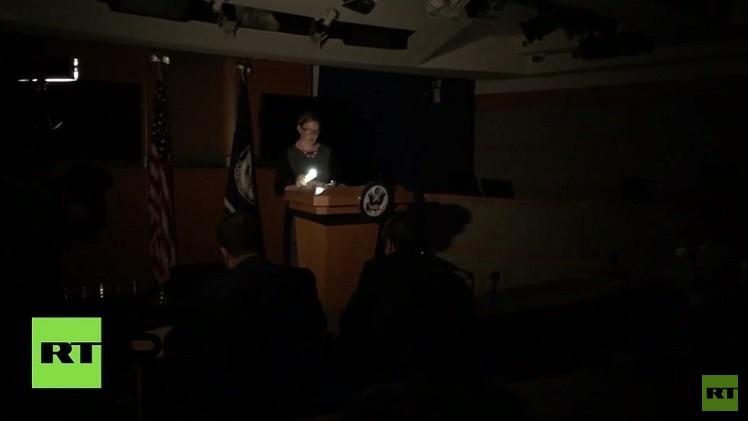 واشنطن تغرق في الظلام رغم النووي الإيراني (فيديو)