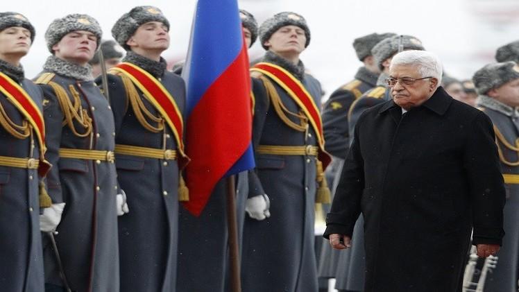 بوتين يستقبل محمود عباس بموسكو في 13 أبريل